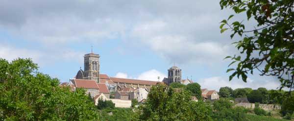 la basilica di Vézelay